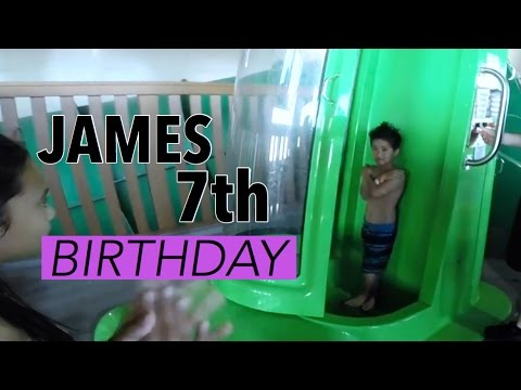 James' 7th Birthday @ Great Wolf Lodge :: April 03, 2016 :: Careopag Vlogs