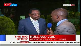 The Big Story: AG Githu Muigai rules out Raila Odinga's swearing-in