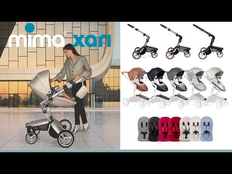 Mima Xari Stroller Store Demo – Direct2Mum