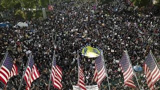 Протесты и беспорядки в США: массовые задержания