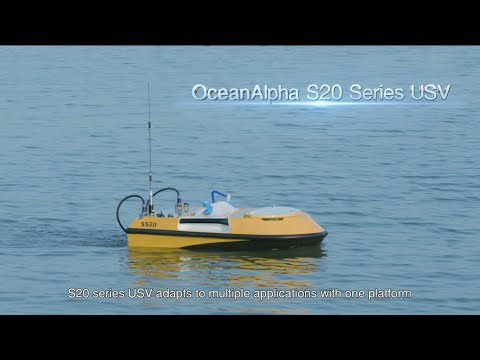 OceanAlpha SL20 USV platform for water survey