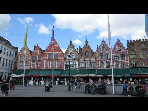 荷蘭+ 比利時+ 盧森堡旅遊: 2 ~比利時布魯賽爾大廣場、原子球塔、貿易大城根特、香草河岸、布魯日柏格廣場及市集廣場。