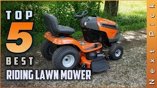 Top 5 Best Riding Lawn Mower Review in 2020