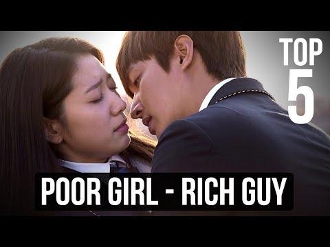 Top 5 Rich Guy - Poor Girl Korean Dramas