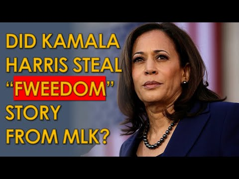 "Kamala Harris ""Fweedom"" Story may be STOLEN from MLK"