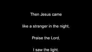 Hank Williams - I Saw The Light Lyrics