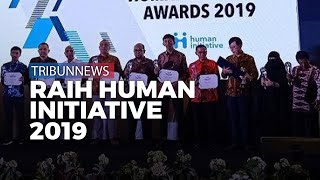 Tribunnews Raih Penghargaan Human Initiative Awards 2019 di Balai Kartini