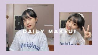 [Daily Vlog] Daily Makeup   Trang điểm Hàng Ngày Tone Hồng Tự Nhiên 🍑