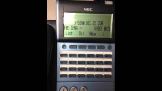 How to Change Ringtones on a NEC DT300/DT700 Phone