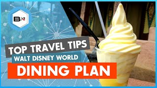 The Dos & Donts Of The Disney Dining Plan