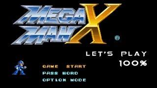 Mega Man X 100% 'Speed' Run Let's Play!