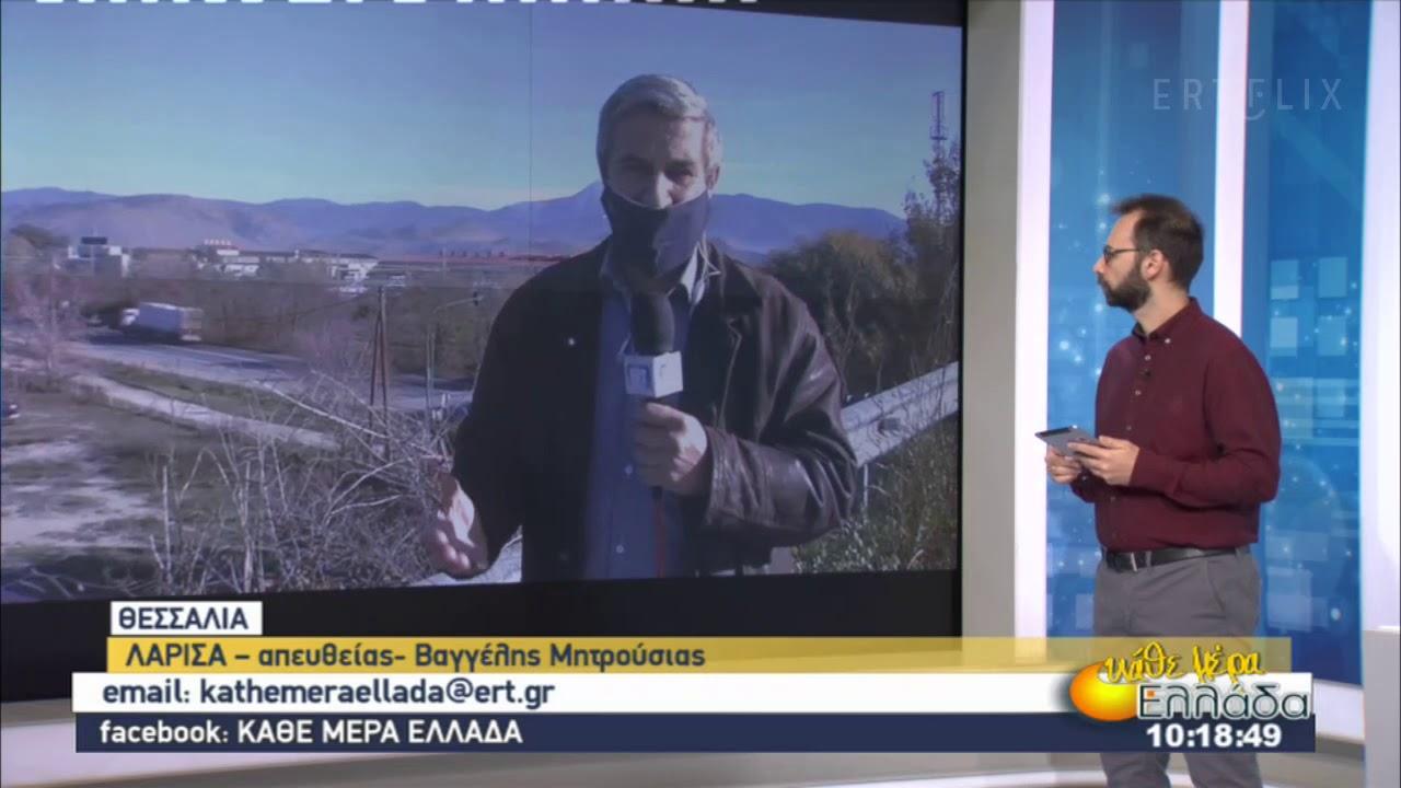 Η εικόνα της πανδημίας στη Θεσσαλία | 08/12/2020 | ΕΡΤ
