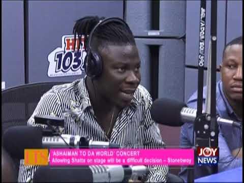 Let's Talk Entertainment on JoyNews (18-10-18)
