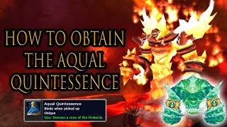 How to Summon Ragnaros | Aqual Quintessence | Classic WoW