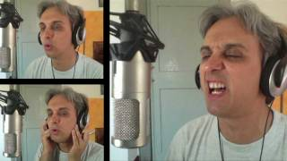 How to sing a cover of Please Mr Postman Beatles vocal harmony breakdown