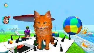 Играем в СИМУЛЯТОР КОТА #5 мульт-игра про котят развлекательное видео для детей