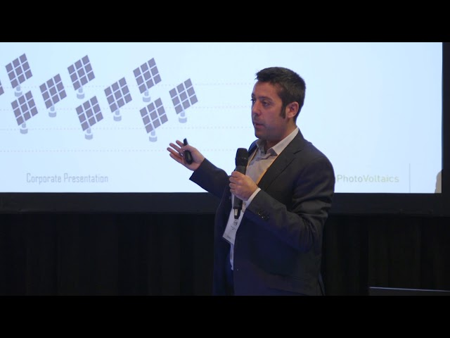 TBB.2018 Pitching sessions: Qualifying Photovoltaics SL
