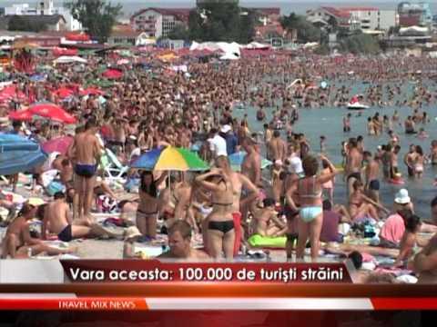 Târgul de turism Bursa Litoral – Delta Dunării 2012, la malul mării – VIDEO
