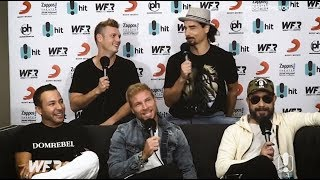 The Backstreet Boys Reveal ALL At The World Famous Rooftop - Carrie & Tommy