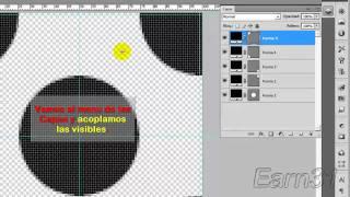 Tutorial Crear un motivo de circulos en photoshop en español