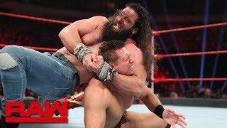 The Miz vs. Elias – 2-out-of-3 Falls Match: Raw, July 1, 2019