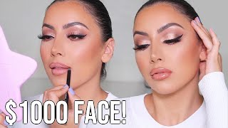 FULL BEAT HIGH END GLAM MAKEUP TUTORIAL!