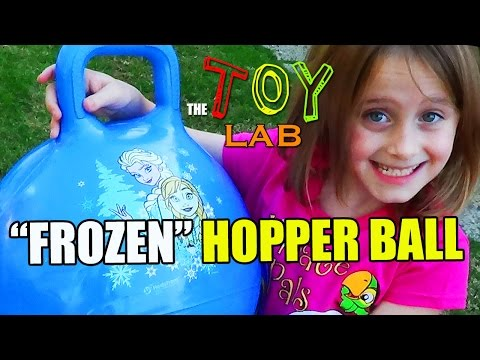 FROZEN Hopper Ball (Review) - The TOY LAB w/ Lindalee (Ep.2)