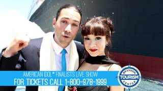 Ace Young and Diana Degarmo at the Titanic in Branson MO Video