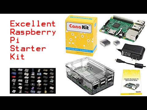 Raspberry Pi 3 Cana Kit - Unboxing, Setup, Overview