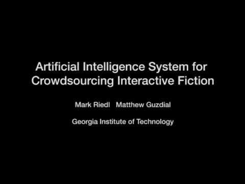 AI Interactive Fiction Video