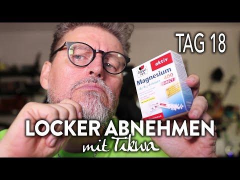 Macht Doppelherz Magnesium 400 DIRECT krank? - Review - LOCKER ABNEHMEN  - TAG 18