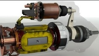 How Starter Motor Works (Must Watch). ✔