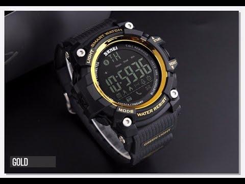 50f5e628701 relógio skmei pedometro bluetooth calorias smart watch 1250. Carregando  zoom.