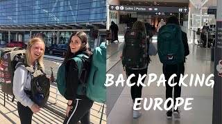 PACK WITH ME: Backpacking Europe For A Month!