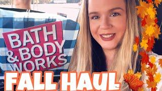 Bath And Body Works Fall 2020 Haul