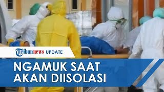 Pasien Positif Covid-19 di Sulawesi Selatan Mengamuk saat akan Diisolasi, Awalnya PDP