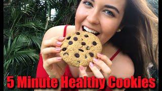5 Minute Healthy Cookies | 5 MINUTE MEALS