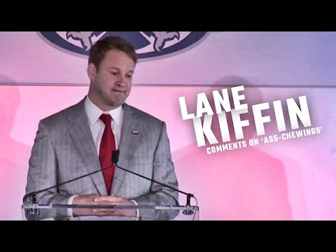 Kiffin comments on 'ass-chewings' from Nick Saban