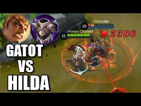 HILDA'S NEW ULTIMATE VS GATOT THE PHYSICAL TANK (видео)