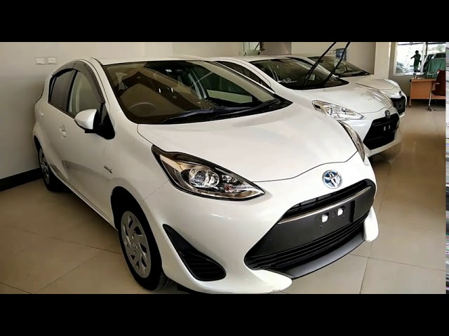 Toyota Aqua S 2017 for Sale in Karachi
