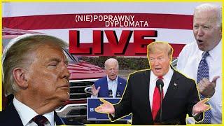 Trump jednak wygrał WISCONSIN? – Dyplomatyczne podsumowanie tygodnia LIVE 🔴 08.08.2021