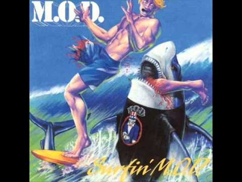 MOD - Surf's Up online metal music video by M.O.D.