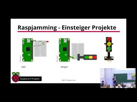 Raspberry Pi Projekte Vortrag GLT18