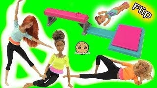Flip In Air + Most Poseable Doll EVER Made To Move Barbie