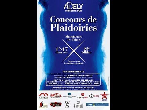 23ème Concours de plaidoiries de l'Adely