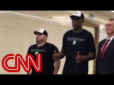 Rodman suggests he aided Warmbier release