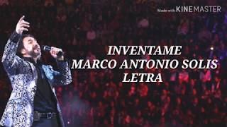 Inventame  Marco Antonio Solis -