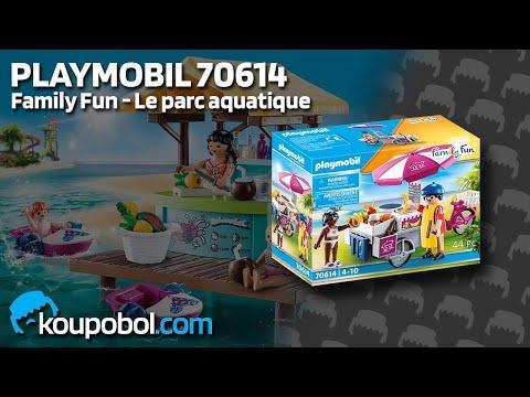 Vidéo PLAYMOBIL Family Fun 70614 : Stand de crêpes