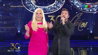 """David Bisbal canta """"Me enamoré de ti"""" - Susana Giménez 2017"""