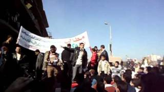 preview picture of video 'Speech in Republic of Zefta 18-2-2011 الثورة مستمرة'